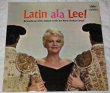 PEGGY LEE - LATIN ALA LEE ! (UK, 1960, RAINBOW CAPITOL, T 1290)