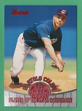 1996 Bowman Player Of The Year RC Manny Ramirez Cleveland Indians #POY8
