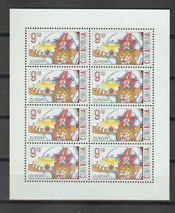 s38743 CZECH REP. EUROPA CEPT 2002 MNH** MS