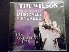 Tim Wilson - Songs for the Musically Disturbed CD - Out of Print - Sealed!
