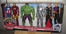 #9267 NRFB Target Stores Hasbro the Avengers Titan Hero Series Giftset