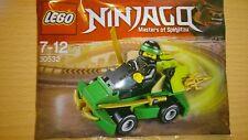 LEGO NINJAGO 30532 LLOYD ´S TURBO RACER POLYBAG FIGUR LIMITED EDITION OVP NEU