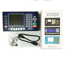 4 axis 3.5 Inch Color LCD CNC controller  lathe mini milling machine