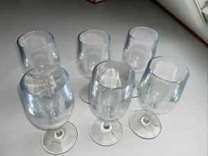 Williams Sonoma, DuraClear Tritan WINE Glasses, Clear Set of 6 SAMPLES