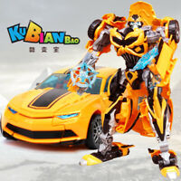 KBB Transformers Bumblebee Camaro deformation Deluxe Action Figure Brand New