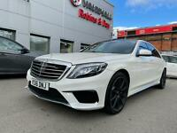 2016 Mercedes-Benz S Class 5.5 S63L AMG (Executive) Speedshift MCT 4dr Saloon
