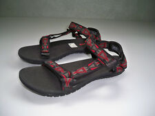 TEVA Hurricane 3 Sport Hiking Sandals Black red gray Womans SZ 7 EXCELLENT