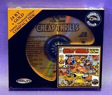 "Big Brother & The Holding Co ""Cheap Thrills"" AUDIO FIDELITY 24K GOLD CD SEALED"