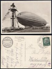 Zeppelin Karte LZ 127 - Frankfurt 1938