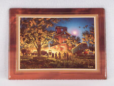 "Terry Redlin Bountiful Harvest 9"" x 7"" Wall Plaque"