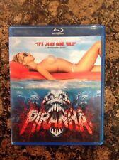 Piranha (Blu-ray Disc, 2011, Canadian) Authentic Release Scratch Free