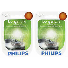Two Philips Long Life Mini Light Bulb 168LLB2 for 168 168LL W5W 1/4 14V 5W rf