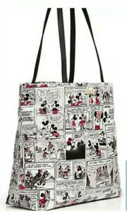 Disney Parks Kate Spade New York Minnie Mouse Comic Tote Handbag