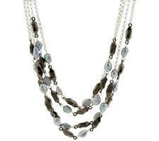 """RLM Studio Sterling Silver Cultured Pearl Lights 19-3/4"""" Necklace $242 QVC"""