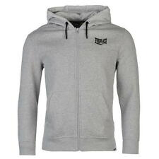Brand New Everlast Zip Hoody Mens Grey Marl Large
