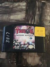 N64 Nintendo Turok Rage Wars