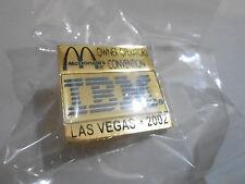 NOS McDonalds Advertising Enamel Pin #58 - 2002 LAS VEGAS - IBM