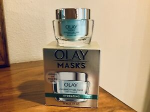 NEW IN BOX OLAY OVERNIGHT HYDRATING GEL MASK WITH VITAMIN E 1.7 fl oz