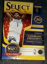 2020-21 Panini Select NBA Basketball Hanger Box With 4 Exclusive Shimmer Each