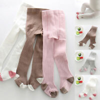 1x Soft Newborn Baby Girls Toddler Kids Tights Stockings Pantyhose Pants Cotton