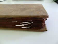 ANTIQUE MONGOLIAN TIBETAN BUDDHIST WOODBLOCK COMPLETE  MANUSCRIPT WITH PICTURES