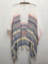 Urban Outfitters Ecote Shawl/Blanket Wrap Sweater Cape Top Boho Southwest OS