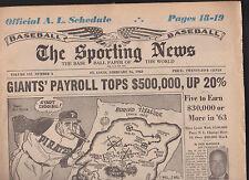The Sporting News TSN Pittsburgh Pirates February 16 1963
