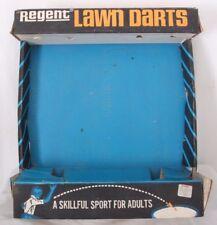 Regent Vintage Model #73929 Rare Display Lawn Darts Jarts Game Box Only
