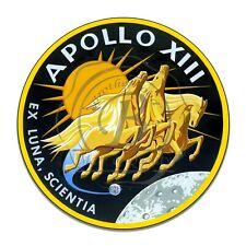 "Apollo 13 Mission Insignia (Reproduction) 11.75"" Circle Aluminum Sign"