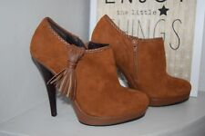 MINELLI low boots daim camel pointure 38 TBE