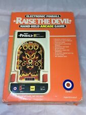 RAISE THE DEVIL ELECTRONIC PINBALL HAND-HELD ARCADE GAME ENTEX 1980
