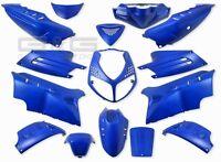 Set Carenatura Carenatura 15 Parti di Carenatura Blu OPACO Peugeot Speedfight