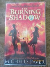 THE BURNING SHADOW by Michelle Paver - the Gods and Warriors series (Paperback)