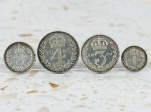 Set of Four Maundy Coins 1926       |47