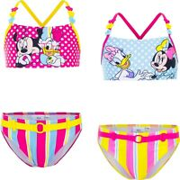 Costume da bagno bambina Minnie 2 pezzi bikini bimba mare piscina 3 4 6 8 anni