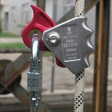 15KN Baumpflege Abseilgerät Aluminium Seilklemme Kletterausrüstung, 9 x 7 cm