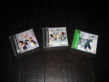 Final Fantasy VII 7 VIII 8 IX 9 PS1 Playstation 1 Set of Games Lot