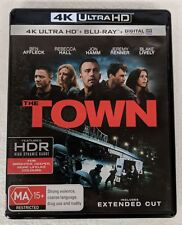 THE TOWN 4K ULTRA HD + BLU-RAY oz seller Ben Affleck UHD HDR DVD