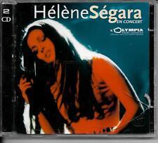 2 CD ALBUM LIVE 23 TITRES--HELENE SEGARA--LIVE EN CONCERT A L'OLYMPIA 2000