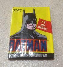 1989 Topps Batman (The Movie) Series 1 - Wax Pack (Batman Variation)