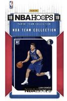 2018-2019 NBA HOOPS Luka Doncic Rookie Card RC! Triple Double Phenom !!