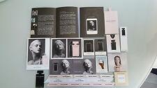 Lot cartes à parfumer narciso rodriguez (2)
