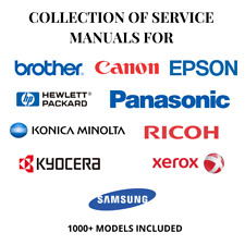 XEROX HP KONICA CANON RICOH KYOCERA EPSON SAMSUNG BROTHER Service Manuals PDF