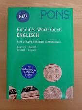 Business-Wörterbuch Englisch-Deutsch * Pons praktisch neu! Klett Verlag *345.000