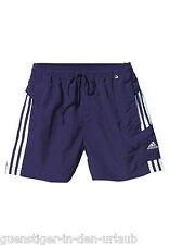 Adidas Jungen Shorts kurze Hose blau Größe 176 NEU