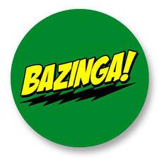 Magnet Aimant Frigo Ø38mm Bazinga The Big Bang Theory Geek TV Serie Sitcom