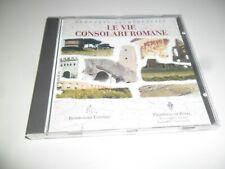 LE VIE CONSOLARI ROMANE CD-ROM PC 1999 COME NUOVO ORIGINALE RARO