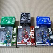 SH S.H. Figuarts gokaiger gokai red & green & blue pack of 3 Action Figure 205