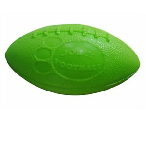 Jolly Football Apple Green Mix Soft Tough Floaty Ball No Deflate Dog Toy