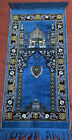Vintage Turkish Prayer Rug Tapestry Wall Hanging Boho Beauty 45X19 in.